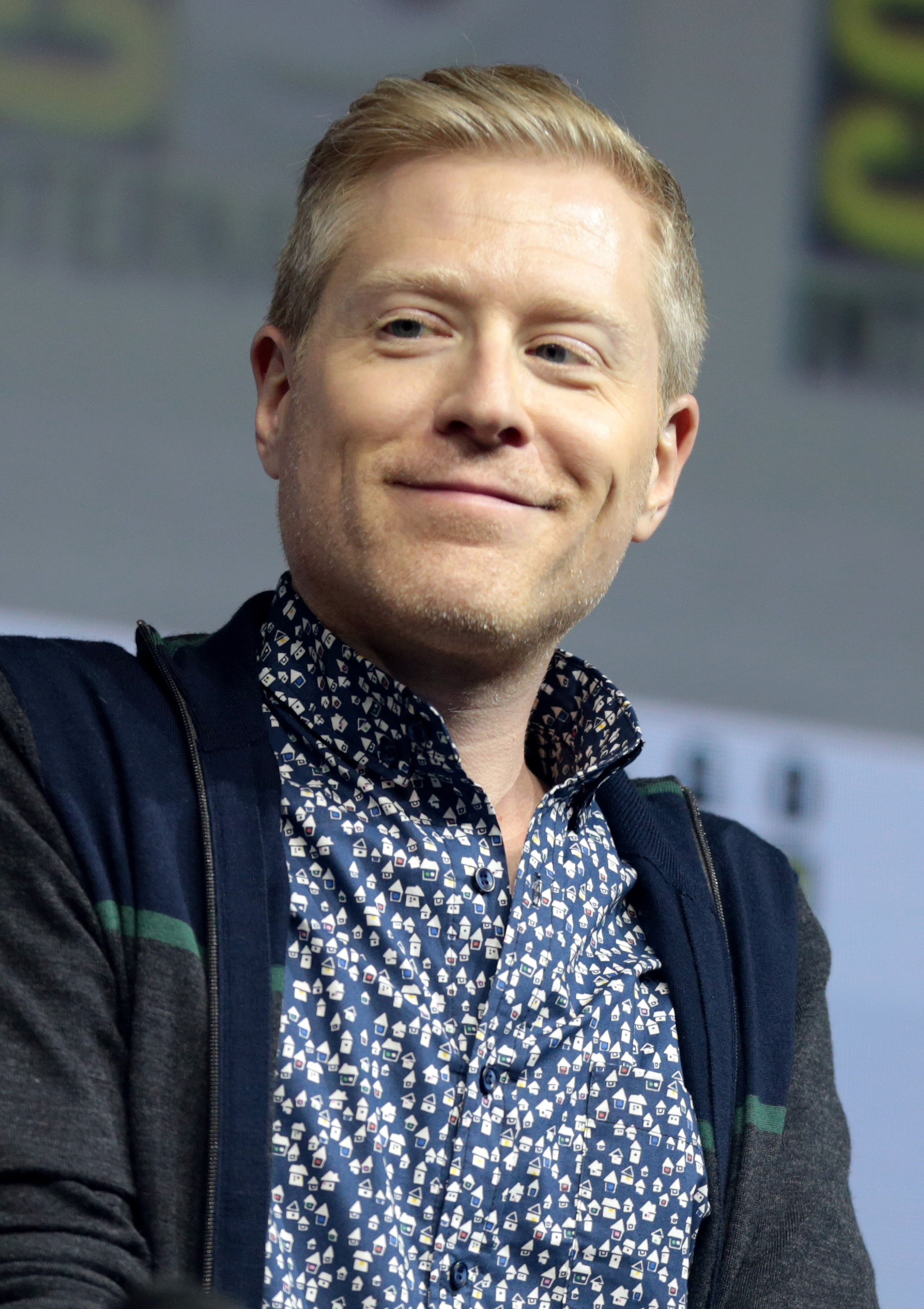The 46-year old son of father Douglas Rapp and mother Mary Lee Baird Anthony Rapp in 2018 photo. Anthony Rapp earned a  million dollar salary - leaving the net worth at 1.5 million in 2018