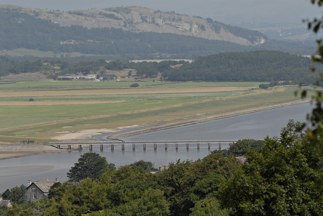 Arnside Viaduct from the Knott - geograph.org.uk - 947545