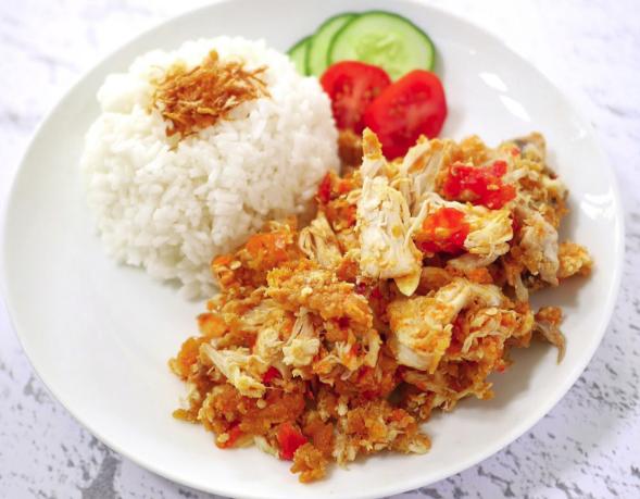Ayam Geprek Wikipedia Bahasa Indonesia Ensiklopedia Bebas