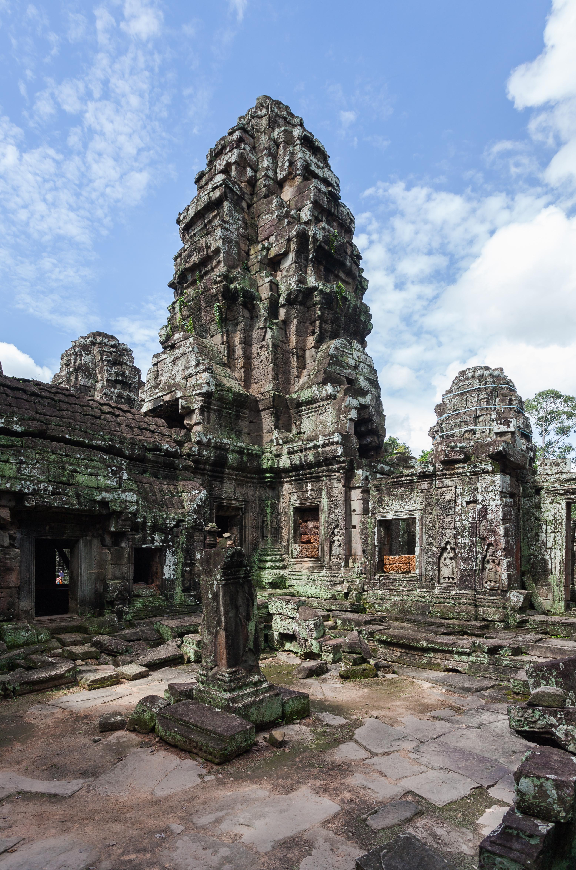 Ruta por los templos de Angkor: Banteay Kdei, Angkor, Camboya, 2013-08-16, DD 10.JPG