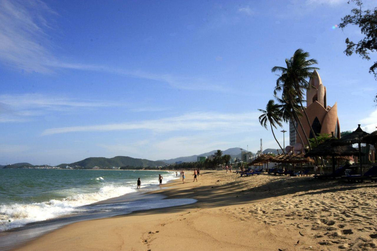 File Beach At Nha Trang Vietnam Jpg Wikimedia Commons