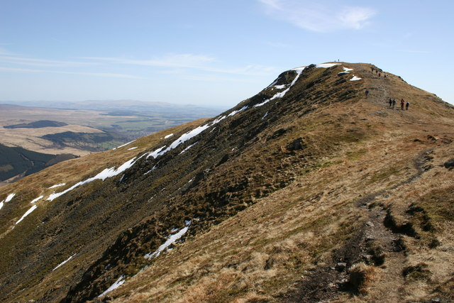 Ben Ledi - North Ridge - geograph.org.uk - 162247