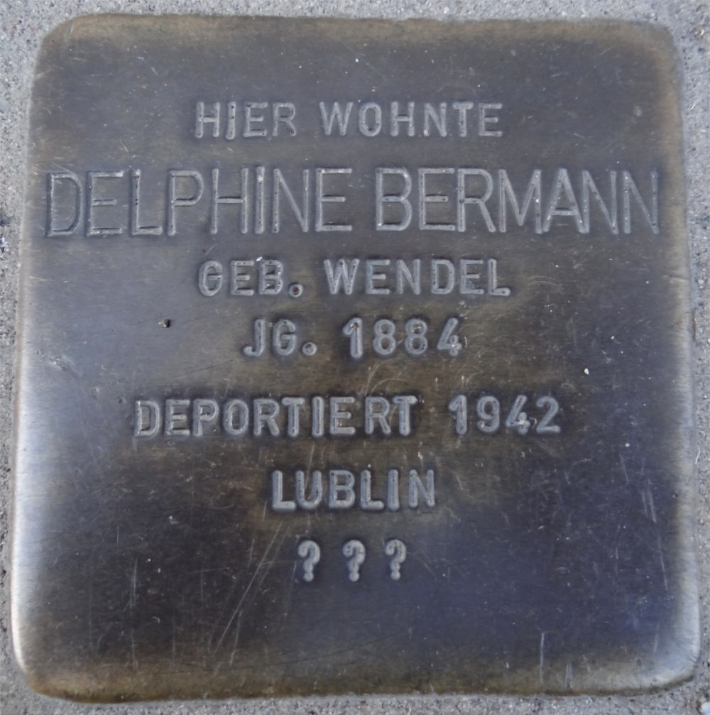 Bingen Stolperstein Delphine Bermann.png