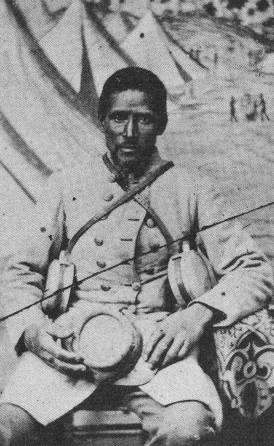 """Marlboro"", an African-American bodyservant to a white Confederate soldier. Black Confed-1.JPG"