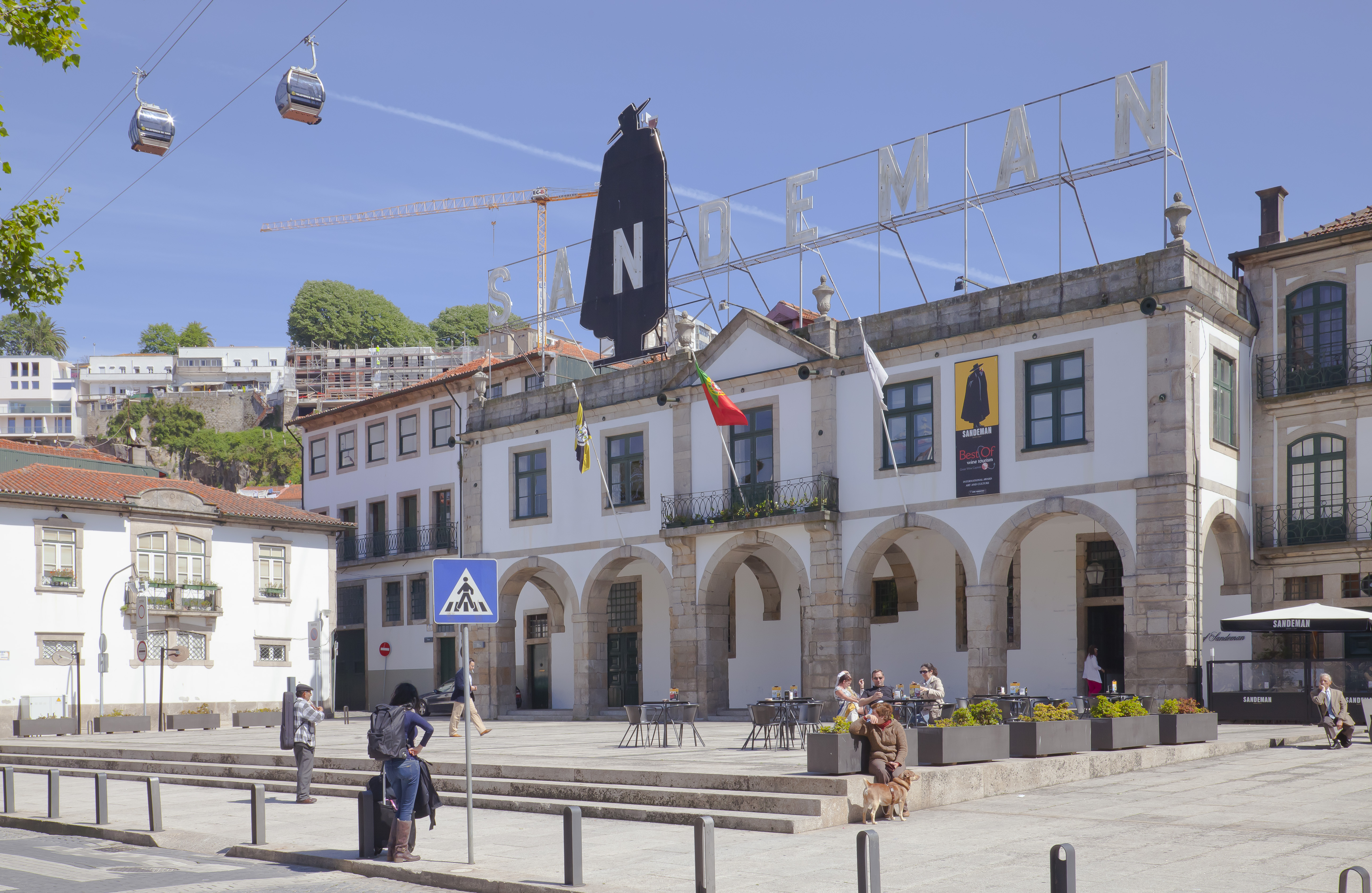 Vila Nova De Gaia Portugal  city pictures gallery : Bodega Sandeman, Vila Nova de Gaia, Portugal, 2012 05 09, DD 05 ...