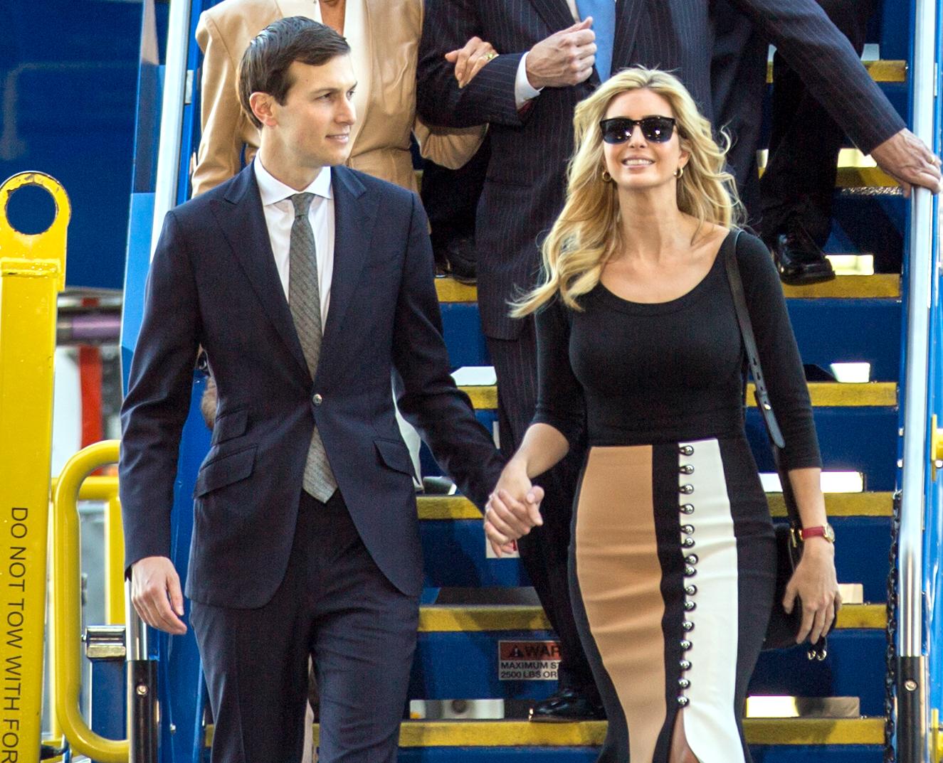 Bildergebnis für Jared Kushner und Ivanka Trump
