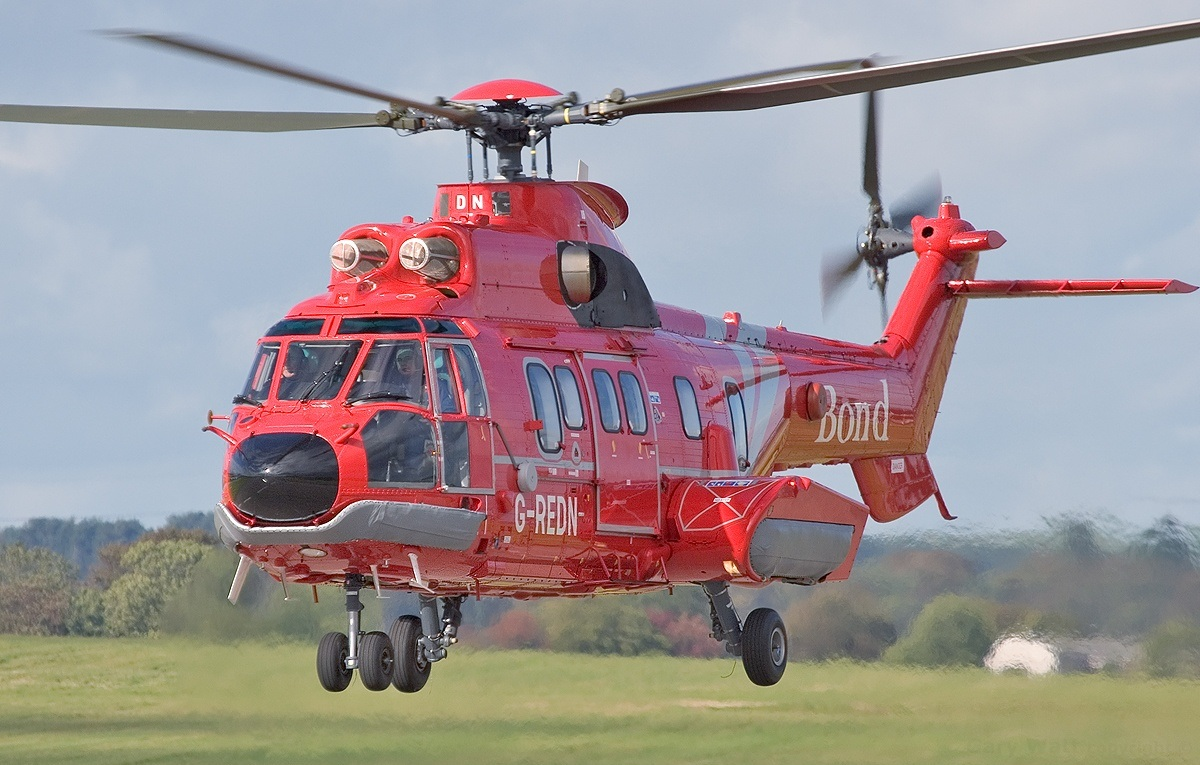 Depiction of Eurocopter AS332 Super Puma
