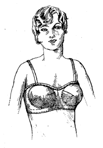 Bras Begin to Resemble Today's Garments