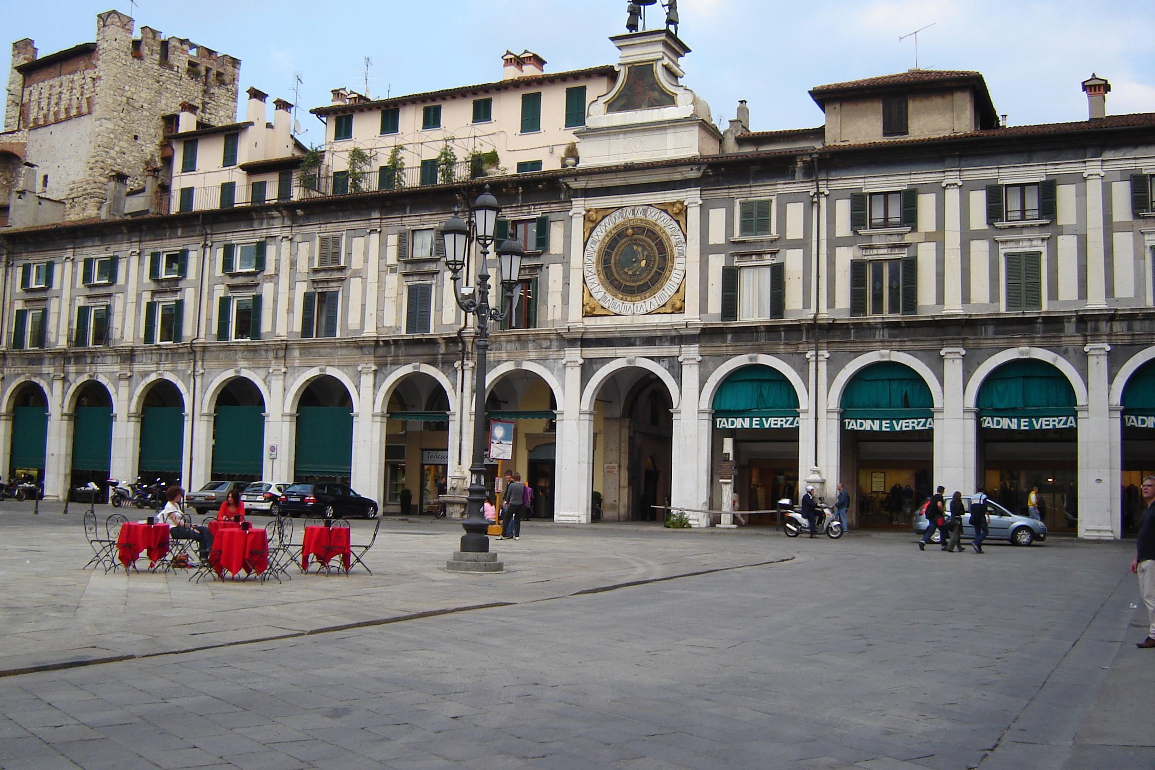 Piazza della Loggia e Orologio
