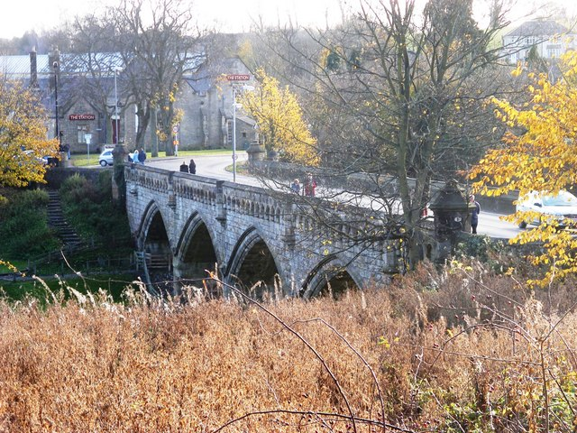 Bridge over the River Swale - geograph.org.uk - 1047620