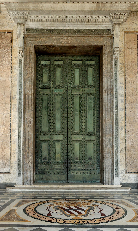 Ancient Roman Doors : File bronze doors san giovanni in laterano g