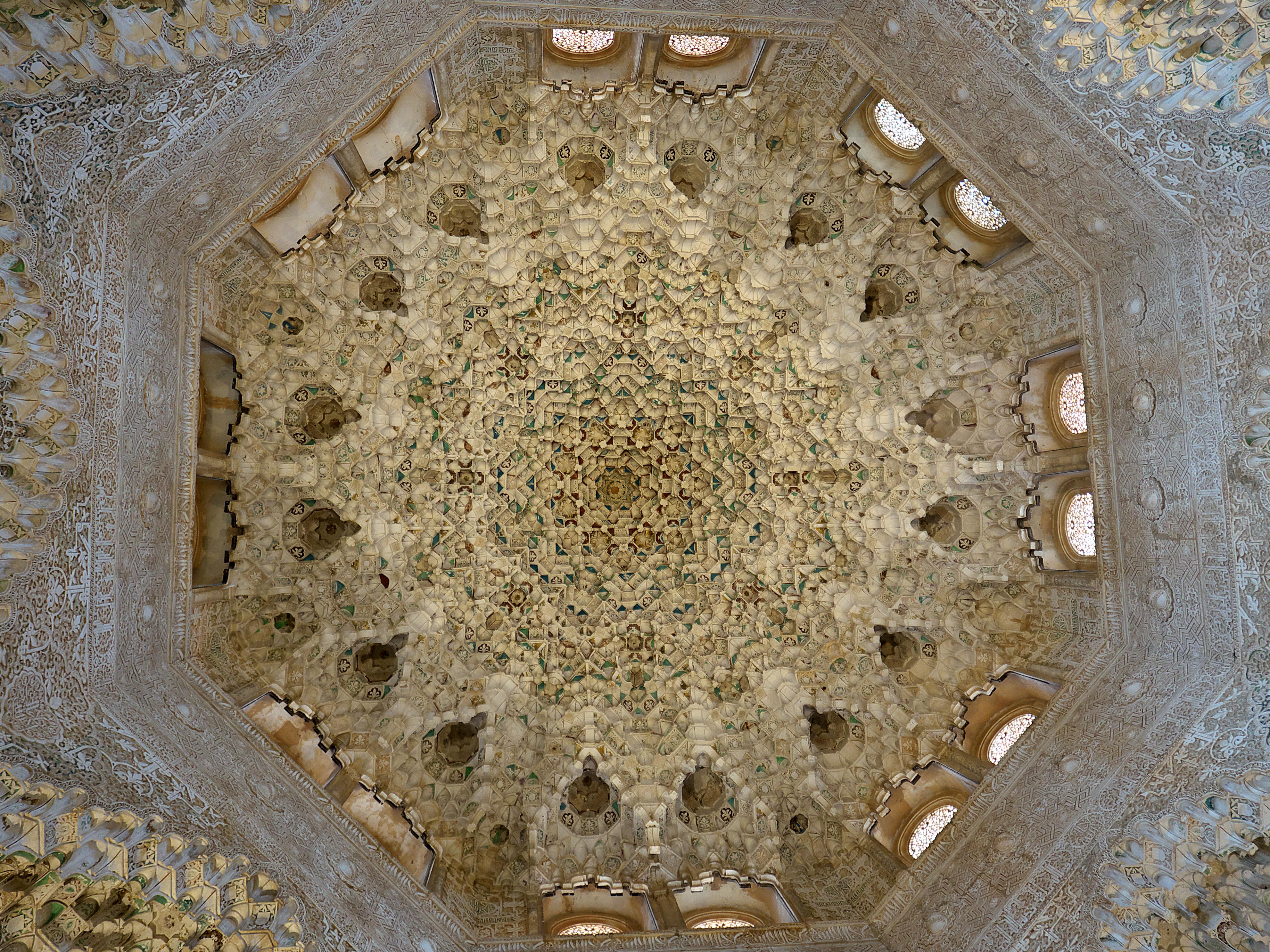 File c pula de la sala de las dos hermanas alhambra - Spa en dos hermanas ...