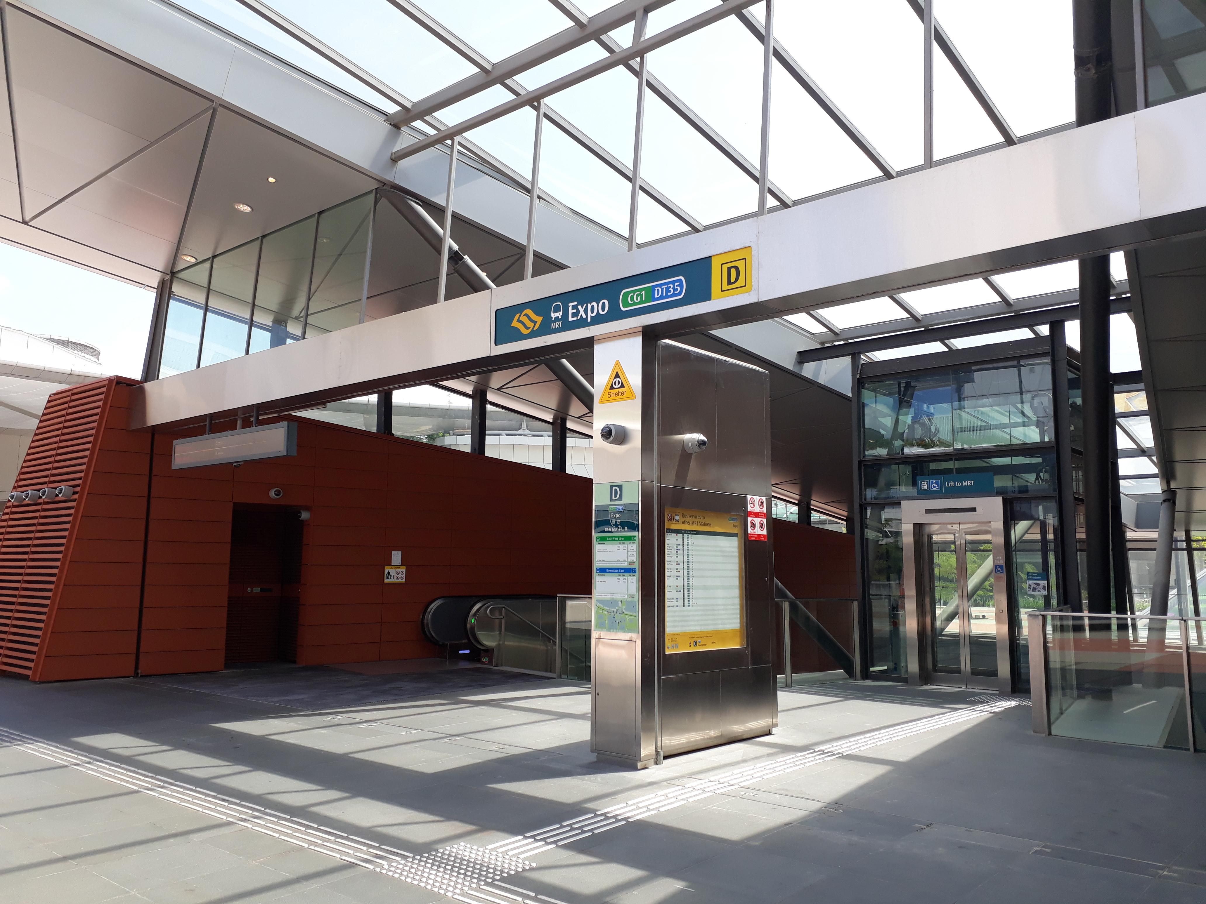 Expo Mrt Station Wikipedia