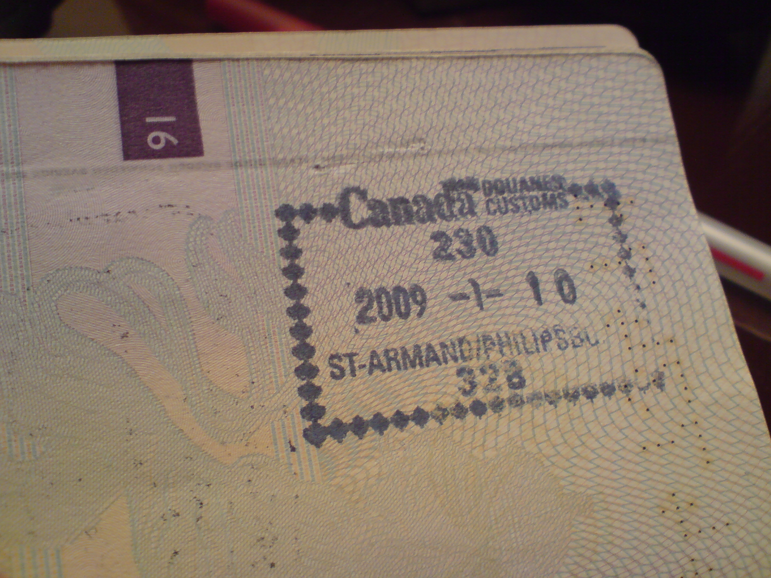 how to work in canda with a nz passport