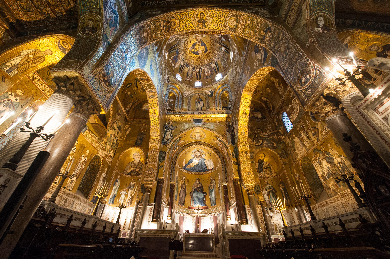 Risultati immagini per cappella palatina di palermo