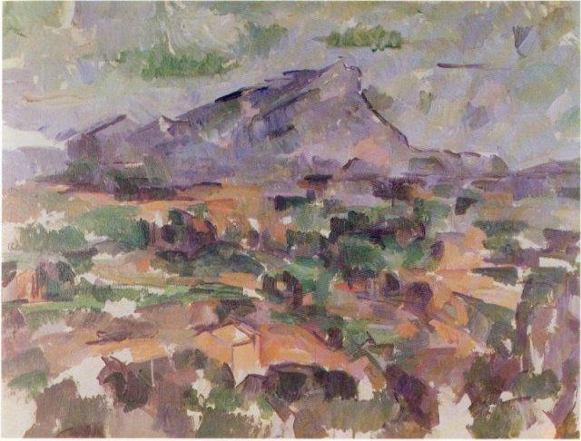 Cezanne Montagne Sainte-Victoire