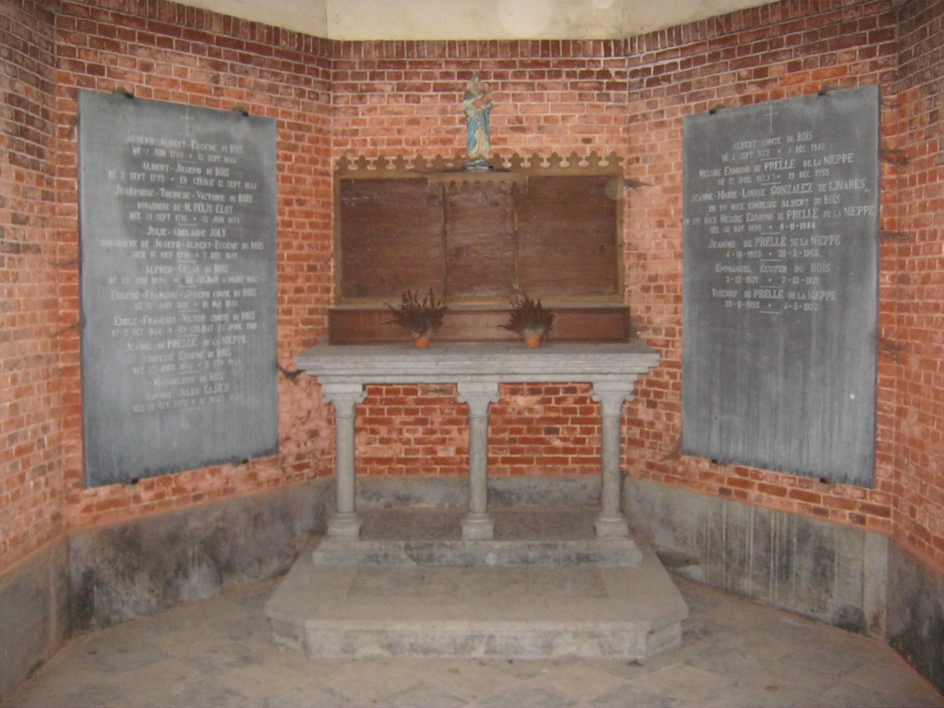 FileChœur de la chapelle des familles du Bois et de  ~ Famille Du Bois