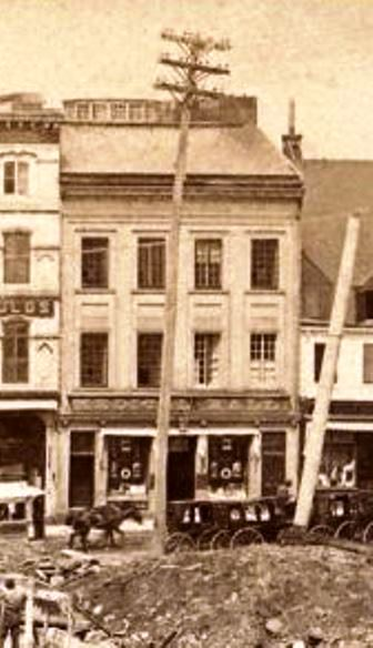 file chantier de construction de l hotel de ville de quebec 1895 wikimedia commons. Black Bedroom Furniture Sets. Home Design Ideas