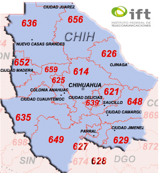 File:Chihuahua Area Codes Map.png - Wikimedia Commons on