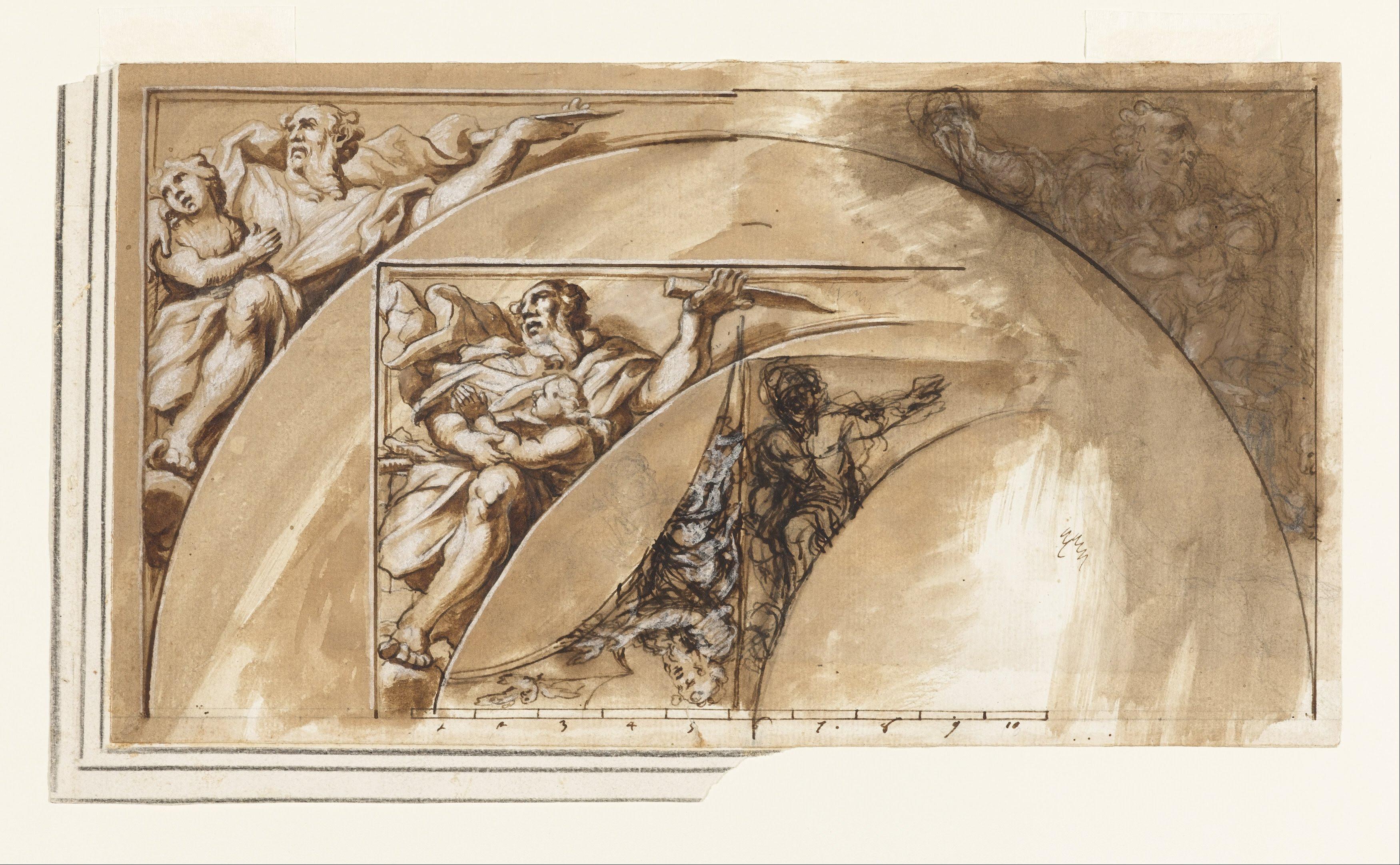 File:Ciro Ferri - Design for Spandral Decoration - Google ...