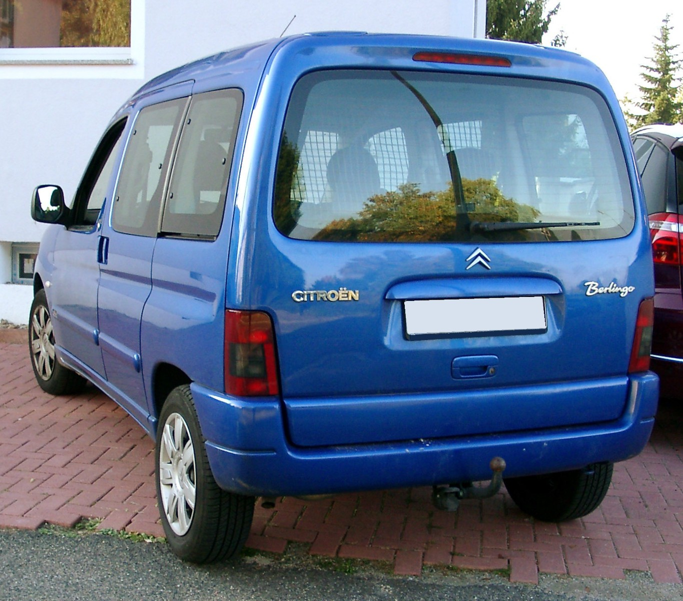File Citroen Berlingo Rear 20071006 Jpg Wikimedia Commons