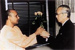 Sri Chinmoy U Thant, 1972