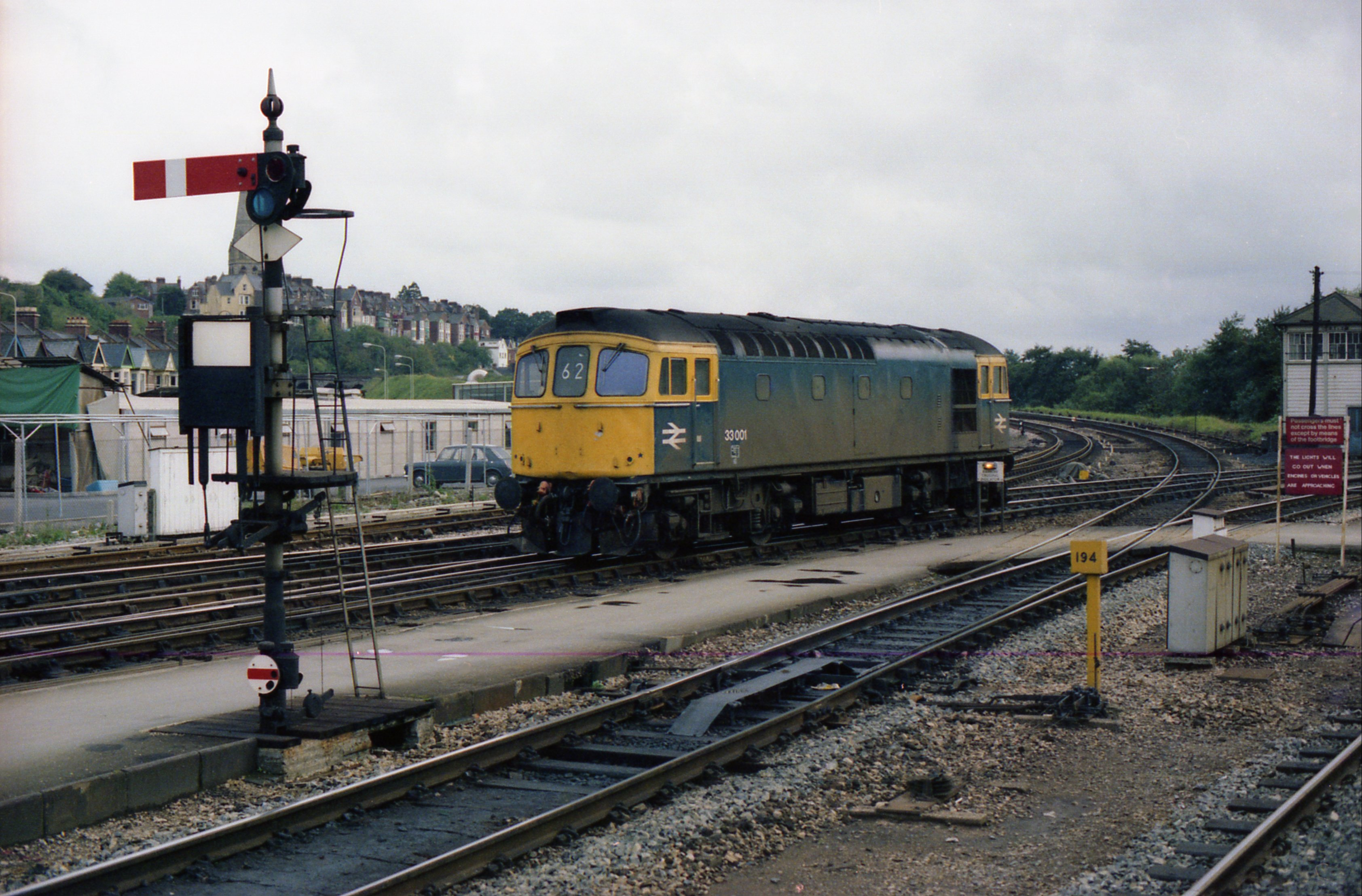 File Class 33 33001 Exeter St Davids 1 January 1978 Jpg