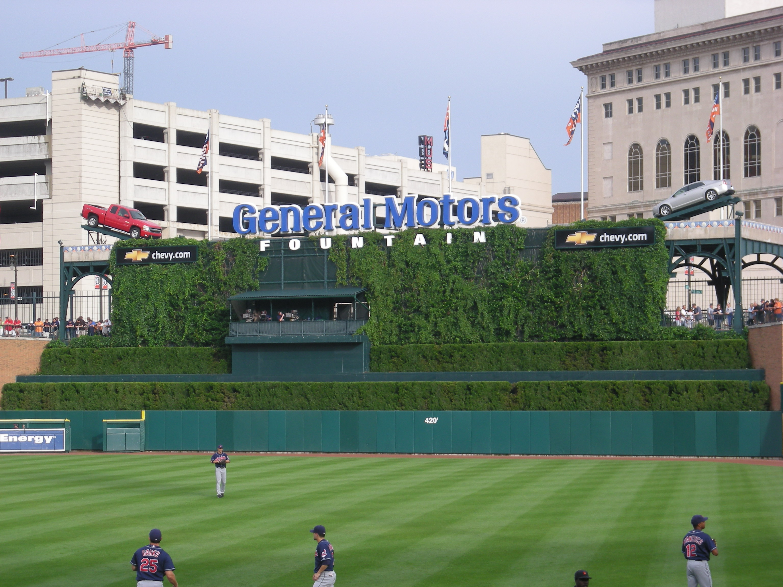 File comerica park centerfield wikimedia for Country plans com
