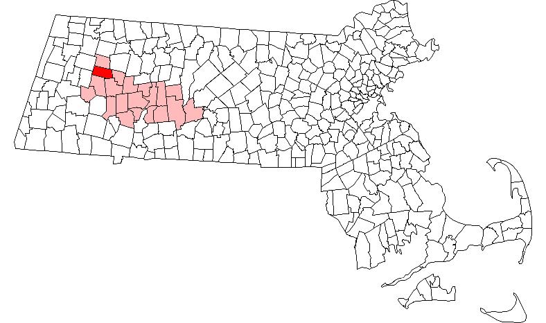Cummington, Massachusetts Quiz