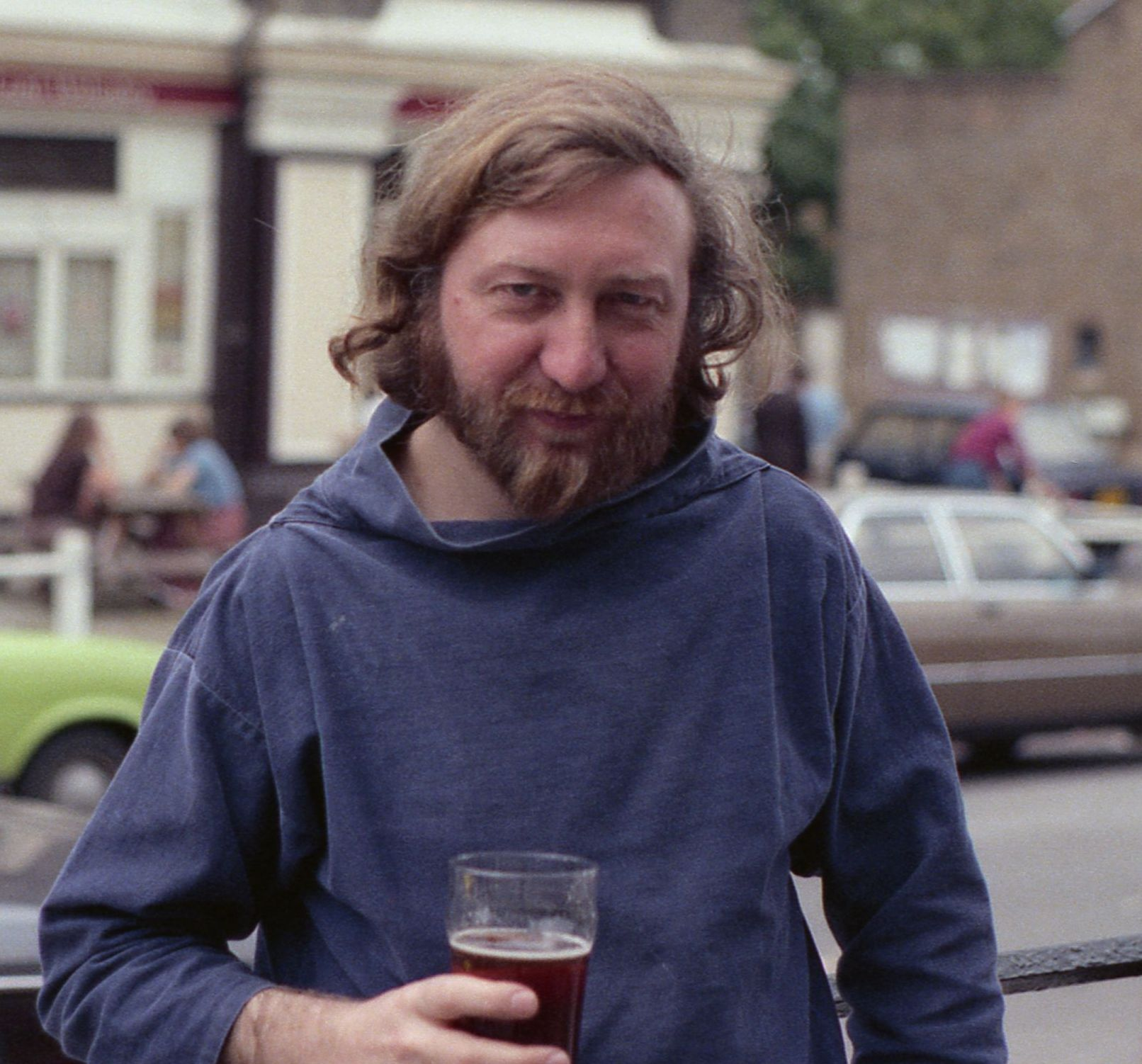 Cyril Edwards in June 1983