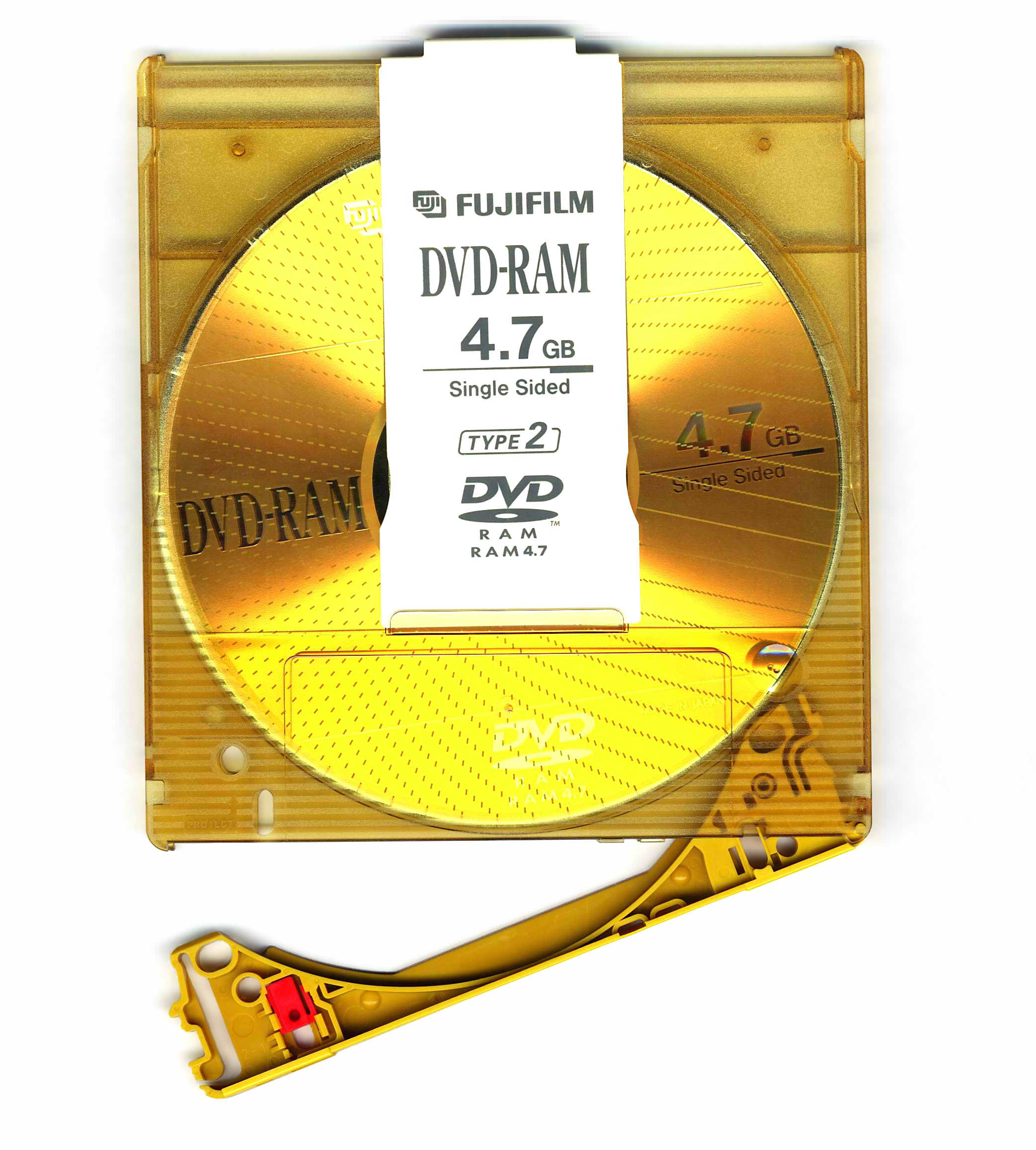 DVD-RAM_FUJIFILM_disc_removable_without_