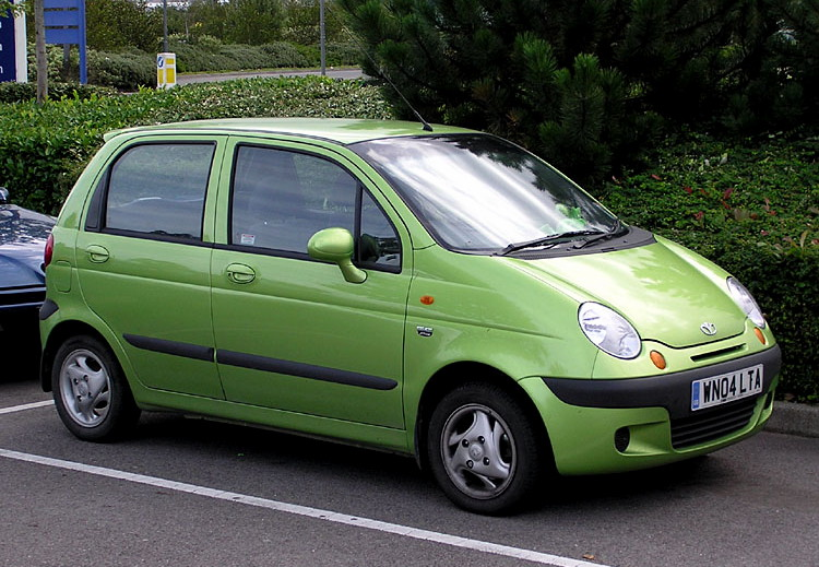 Chevrolet  (official topic) Daewoo_Matiz