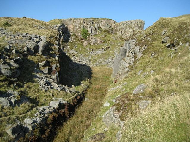 Dartmoor, Swelltor Quarries - geograph.org.uk - 1012225