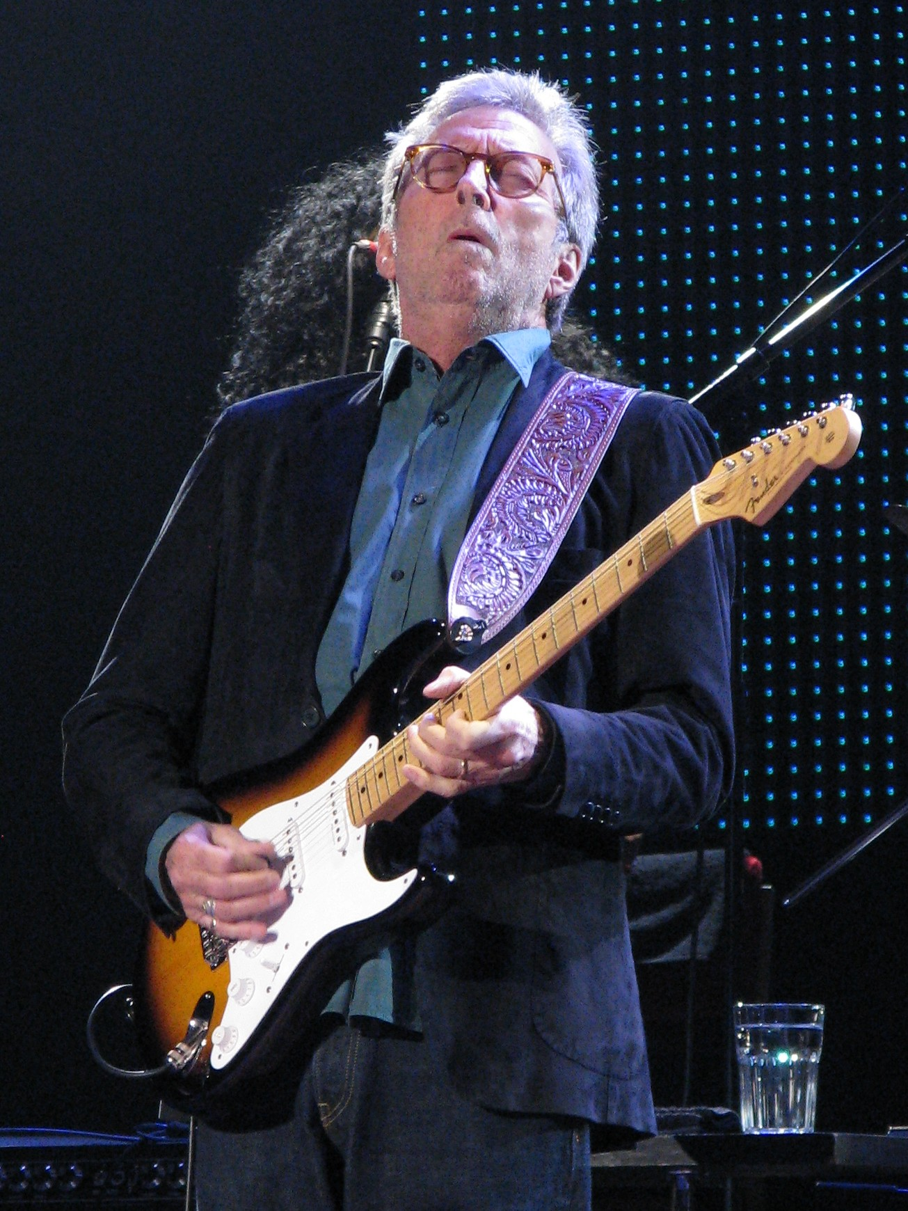 How did eric clapton meet melia mcenery