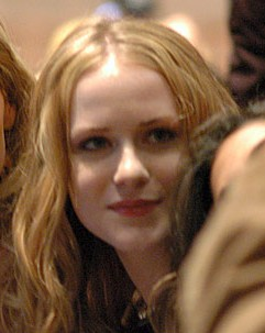 Cropped photo of Evan Rachel Wood at the Sunda...