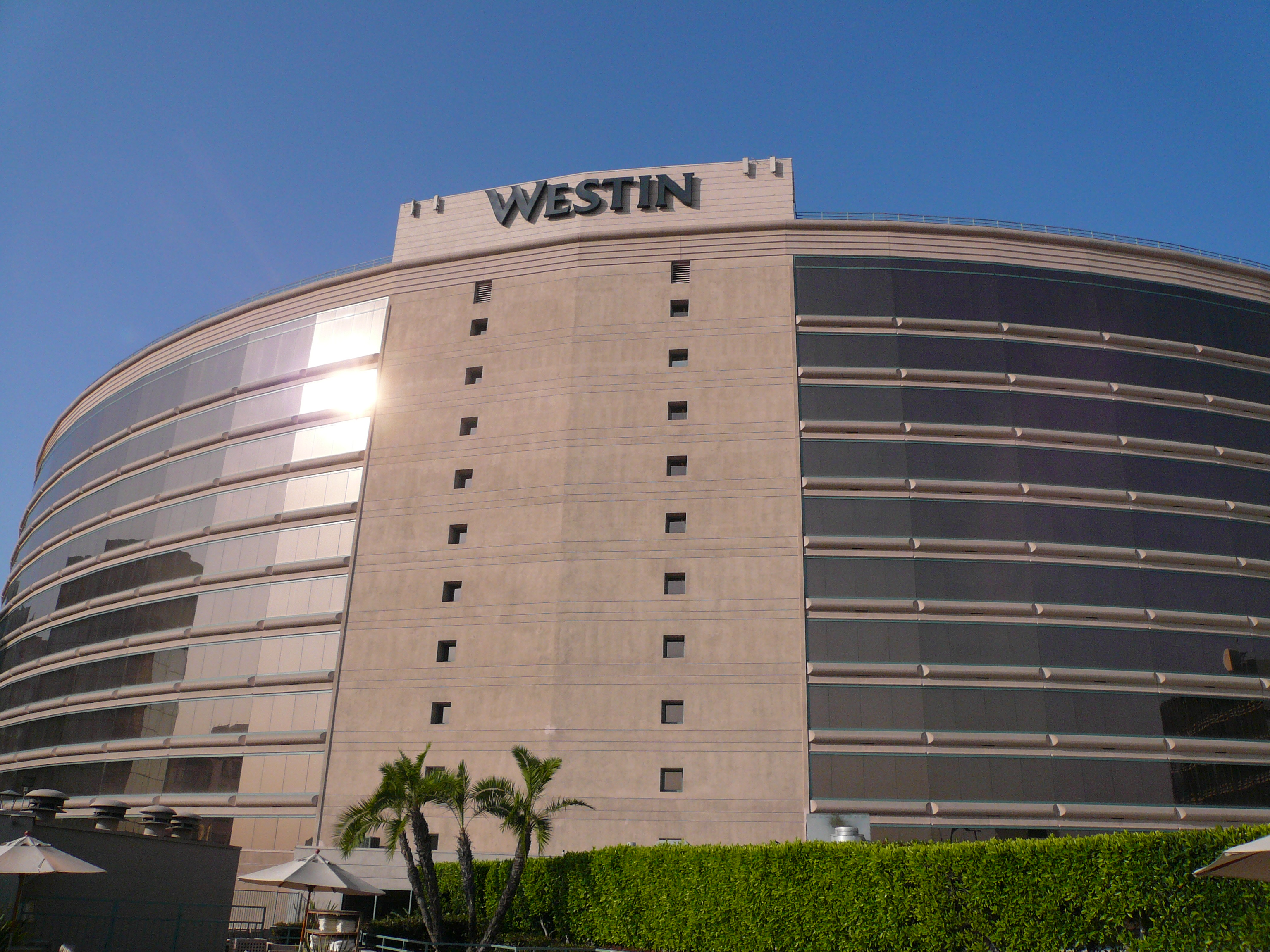 File Exterior Westin Hotel Long Beach California Jpg