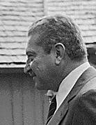 עזר ויצמן בביקור בארצות הברית