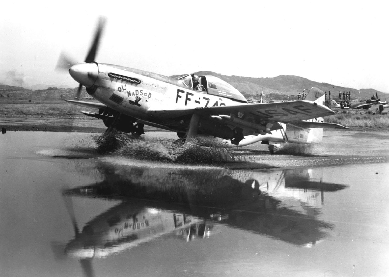 Korean War Aircraft Korean War P-51 Mustang