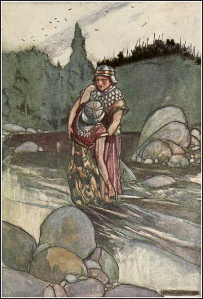 ancient celtic mythology a vision of Ancient celtic warriors, military history, warfare and weapons  this is an allusion on the celtic mythology in which the death goddess gets the souls of the.