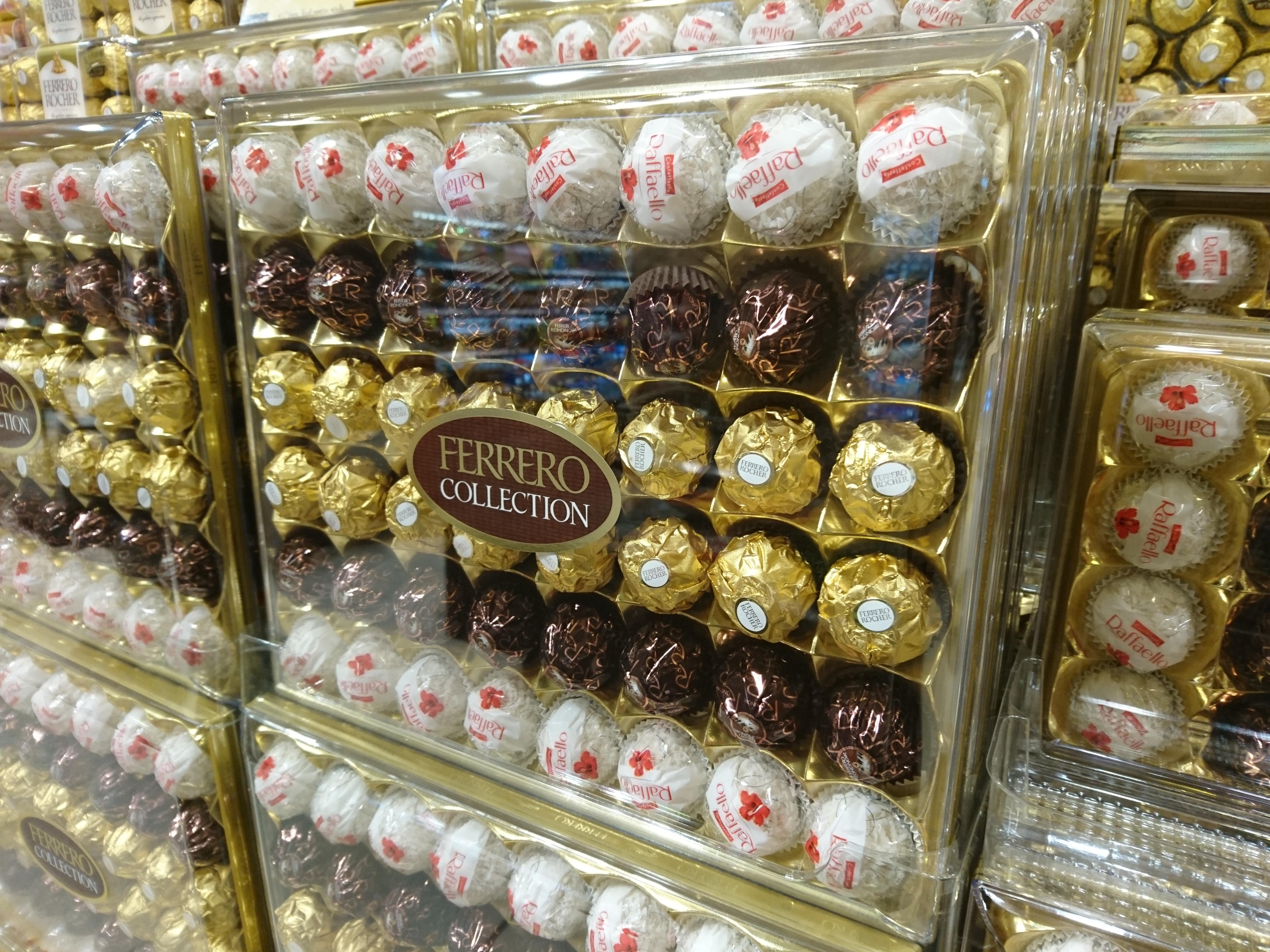 File:Ferrero Collection with Rocher, Rondnoir & Raffaello.JPG - Wikimedia Commons