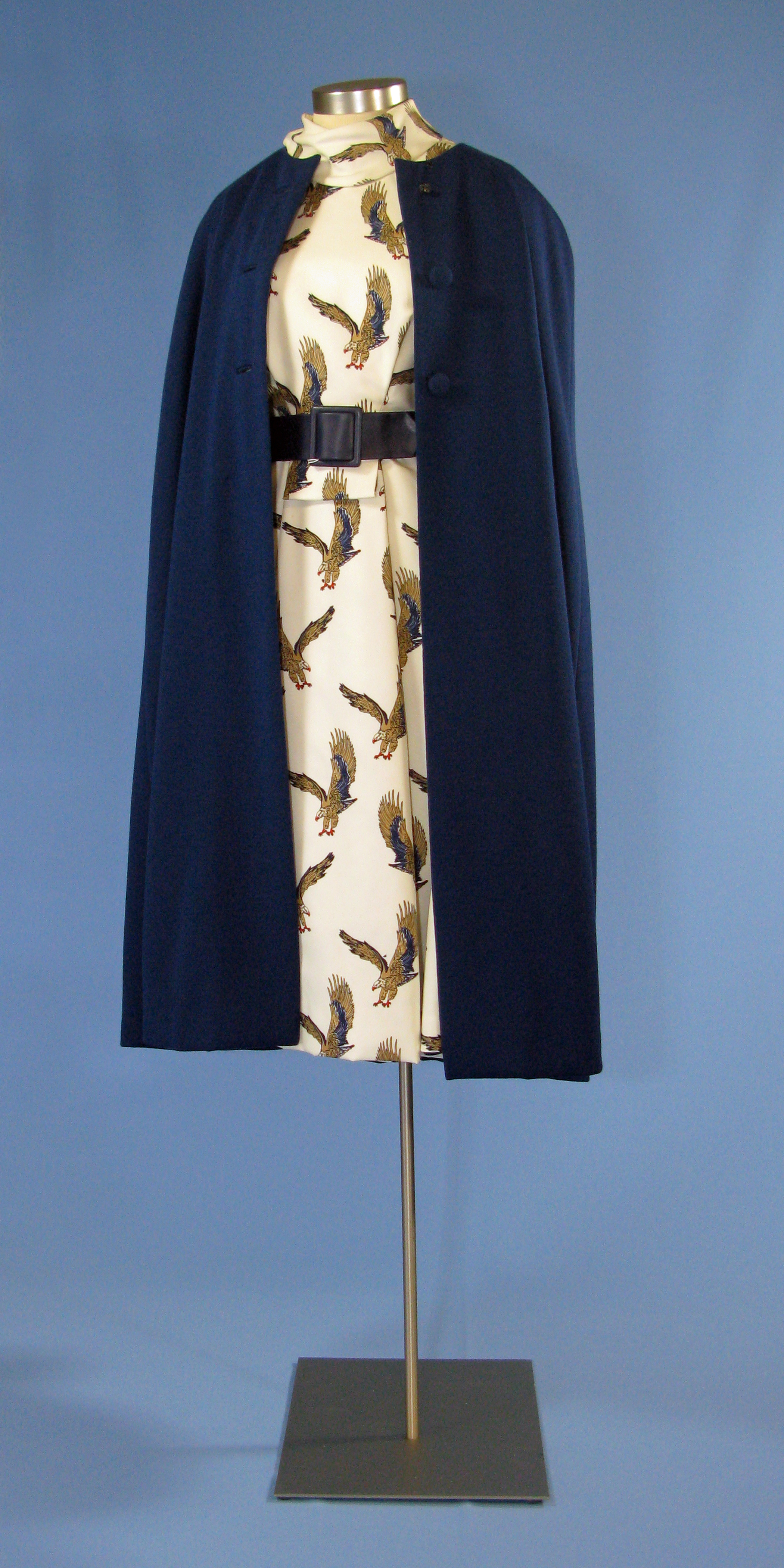 File First Lady Betty Ford S Eagle Dress With Blue Cape