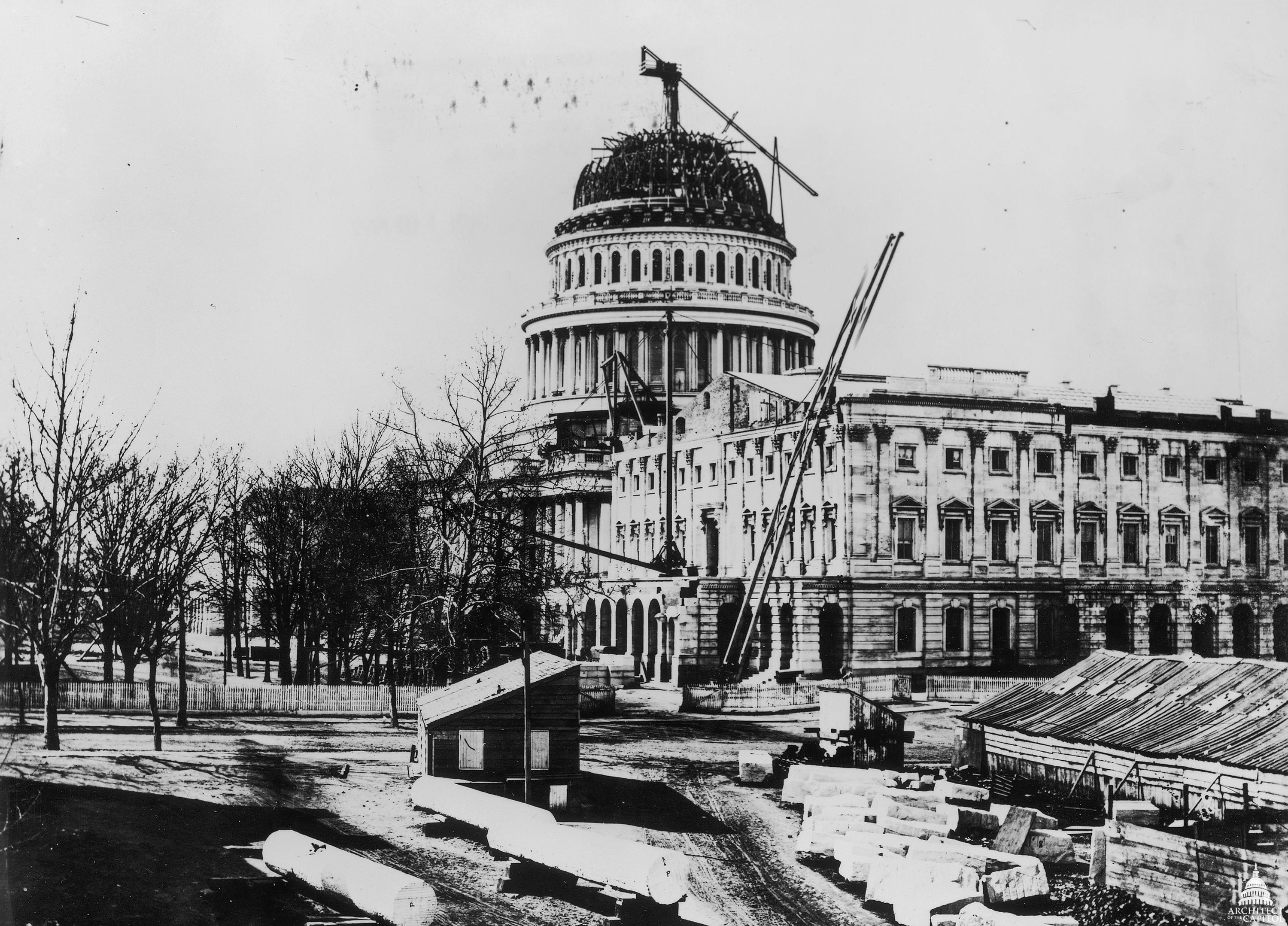 Image result for capitol building dome 1850