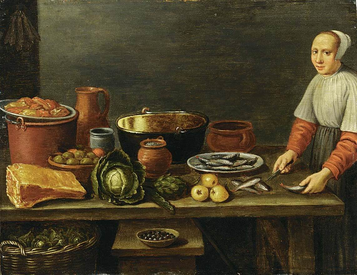 File floris gerritsz van schooten kitchen still life for American cuisine wikipedia