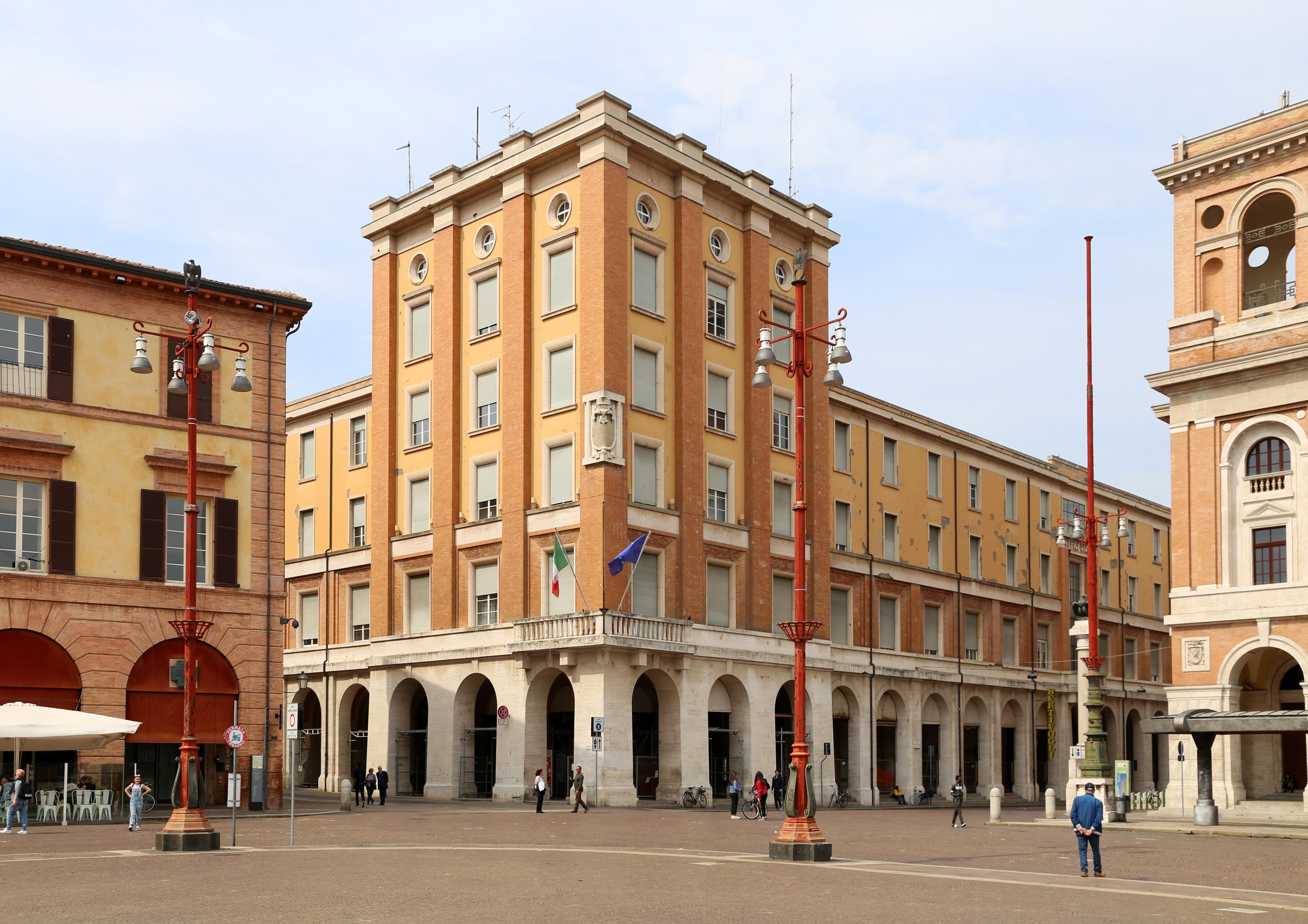 Piazza Della Misura Forli.Piazza Della Misura Forli