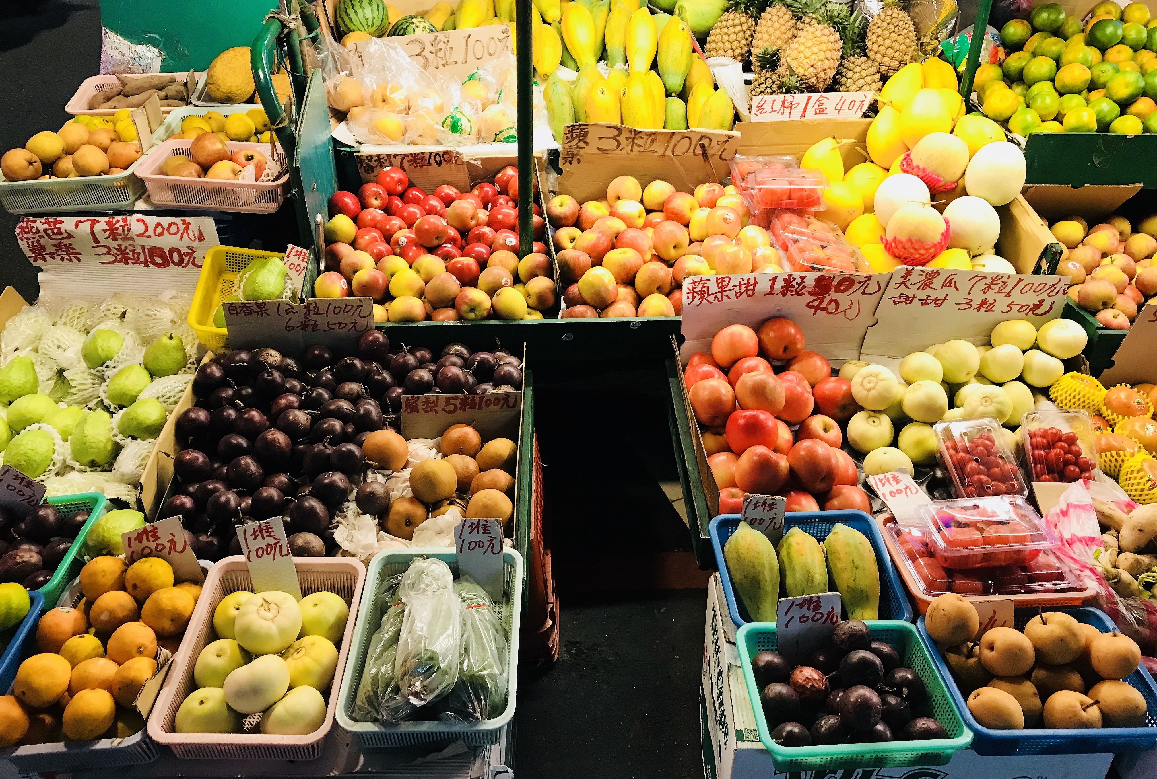 File:Fruit market in Taipei, Taiwan jpg - Wikimedia Commons
