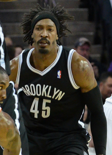 Wallace with the Brooklyn Nets - Gerald Wallace