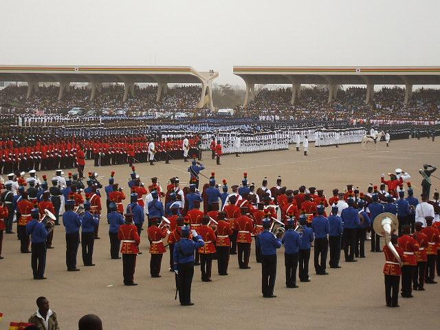 Ghana 50th Anniversary. Indep, Christiansbourg...