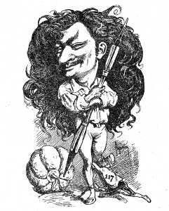 André Gill, self-portrait