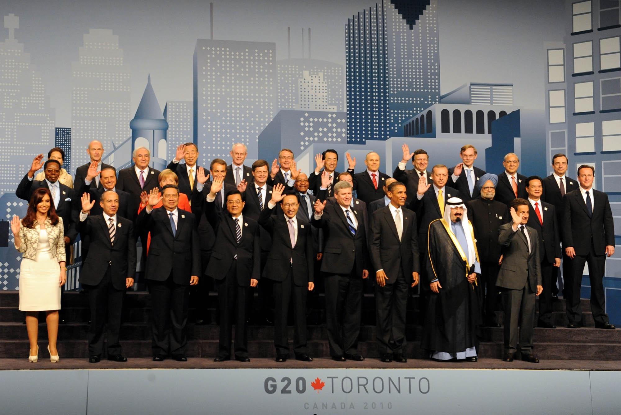 Depiction of Cumbre del G-20 de Toronto