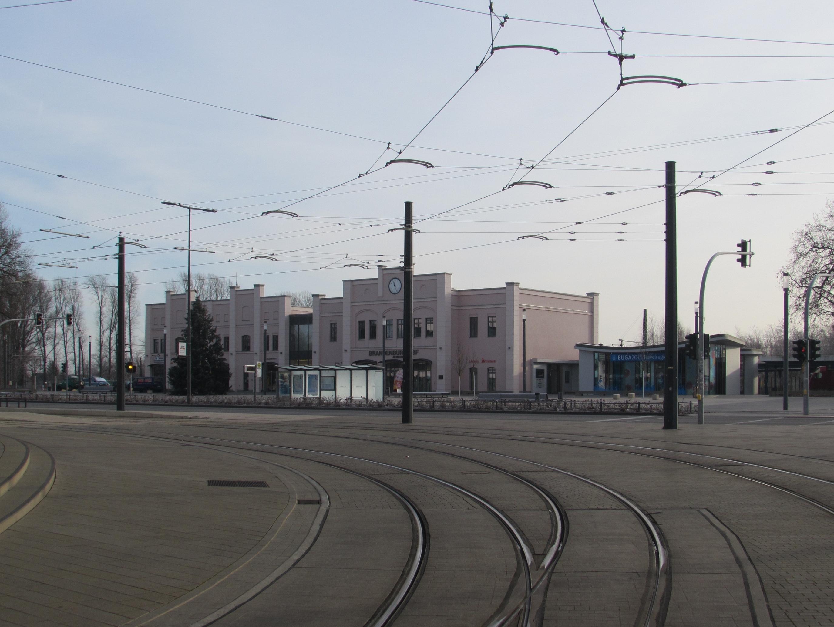 Brandenburg An Der Havel Bahnhof